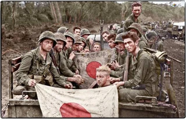 দ্বিতীয় বিশ্বযুদ্ধের একদল সেনাসদস্য; Image Courtesy: filminspector.com