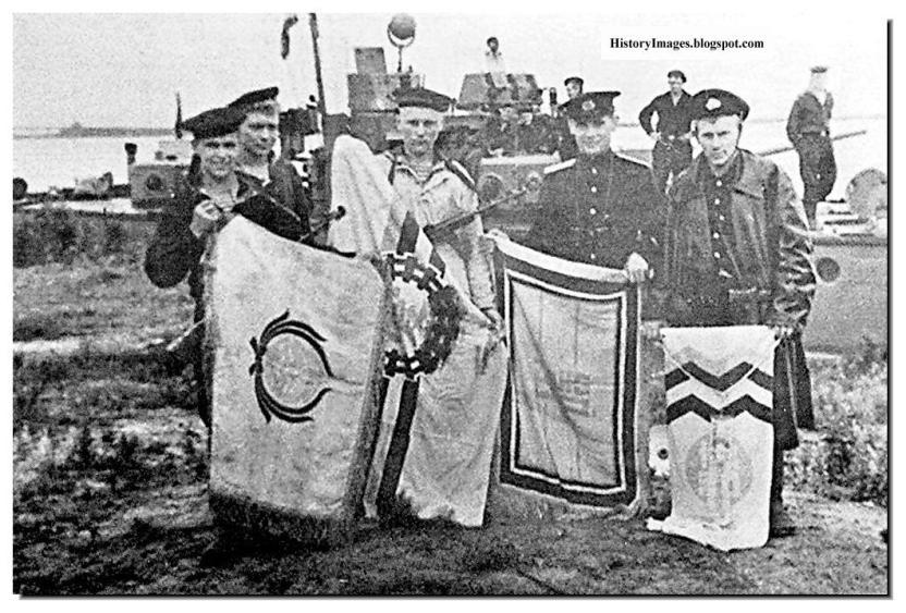 দ্বিতীয় বিশ্বযুদ্ধের সময় জাপানের কিছু সেনা সদস্য; Image Courtesy: crwflags.com