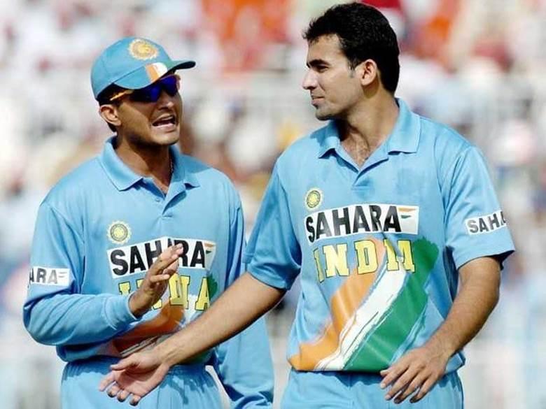 জহির এবং সৌরভ; Image Courtesy: sports.ndtv.com