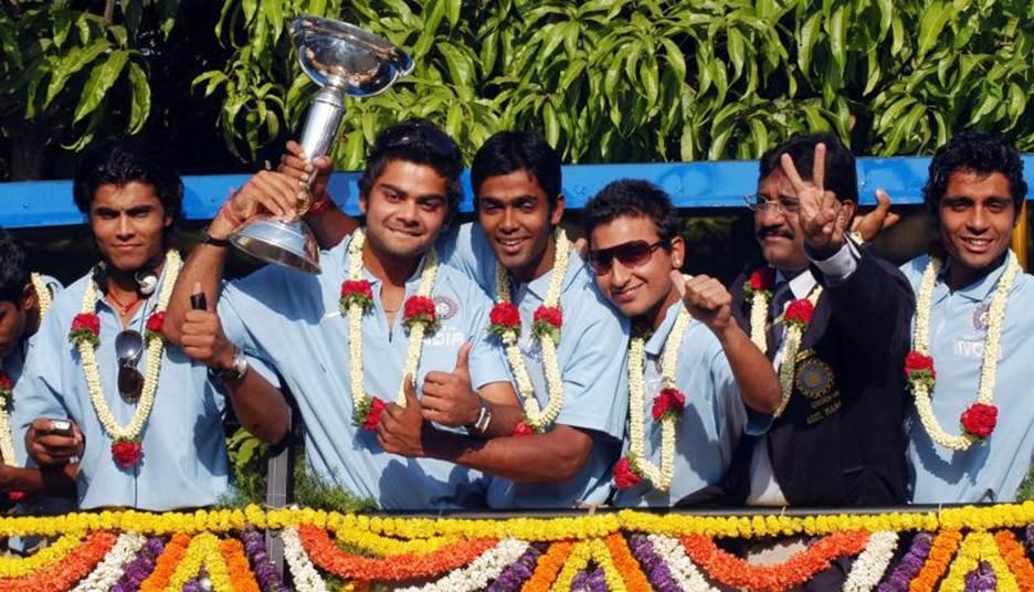 হোয়াটমোরের অধীনে অনূর্ধ্ব-১৯ বিশ্বকাপ জয়ী ভারতীয় ক্রিকেট দল; Image Courtesy: sportskeeda.com